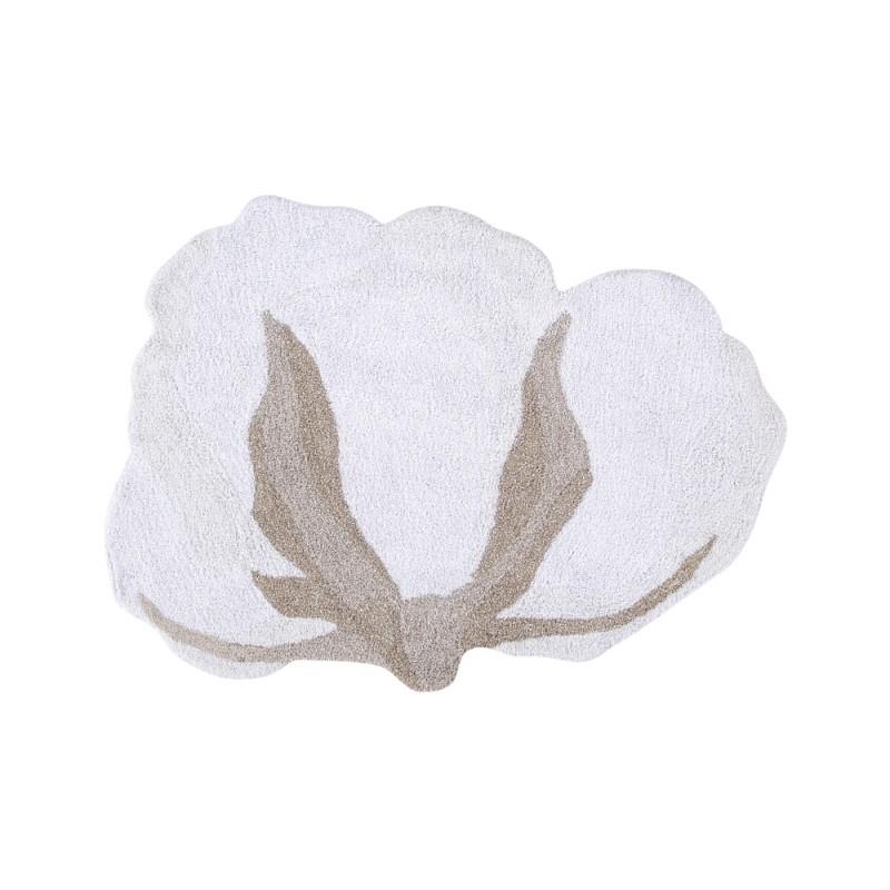 Cotton Flower skalbiamas kilimas