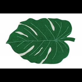 Monstera Leaf skalbiamas kilimas
