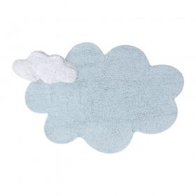 Puffy Dream skalbiamas kilimas - Mėlynas