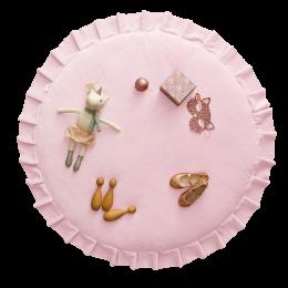 Aksominis kilimas Velvet Pink