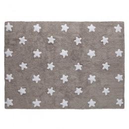 Stars skalbiamas kilimas Linen - White