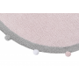 Bubbly Soft Pink Washable Rug (FOR RUGS)