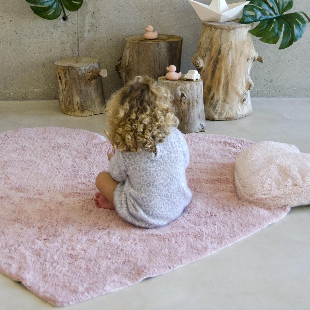 Puffy Love Nude/Puffy Love Nude - Washable Rug by Lorena
