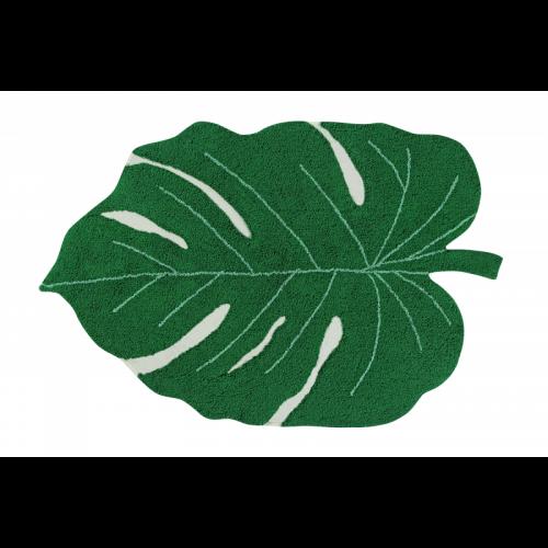 Monstera Leaf Washable Rug