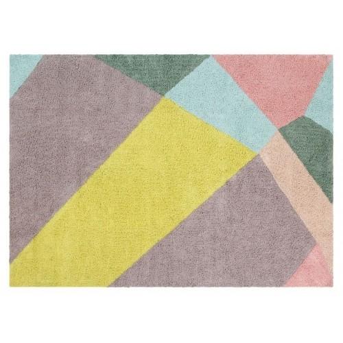 Happy Prism Washable Rug