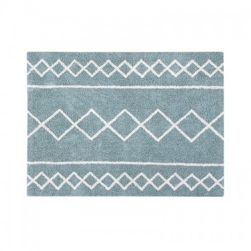 Oasis Natural - Vintage Blue Washable Rug